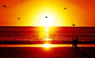 Kako to da je sunce crveno kada zalazi?