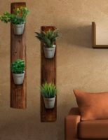 Kako izraditi zidne stalke za sobno bilje ?