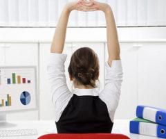 Kako vježbati u uredu?