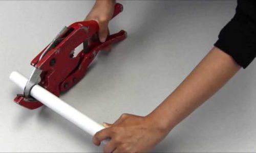 Kako rezati PVC cijevi?