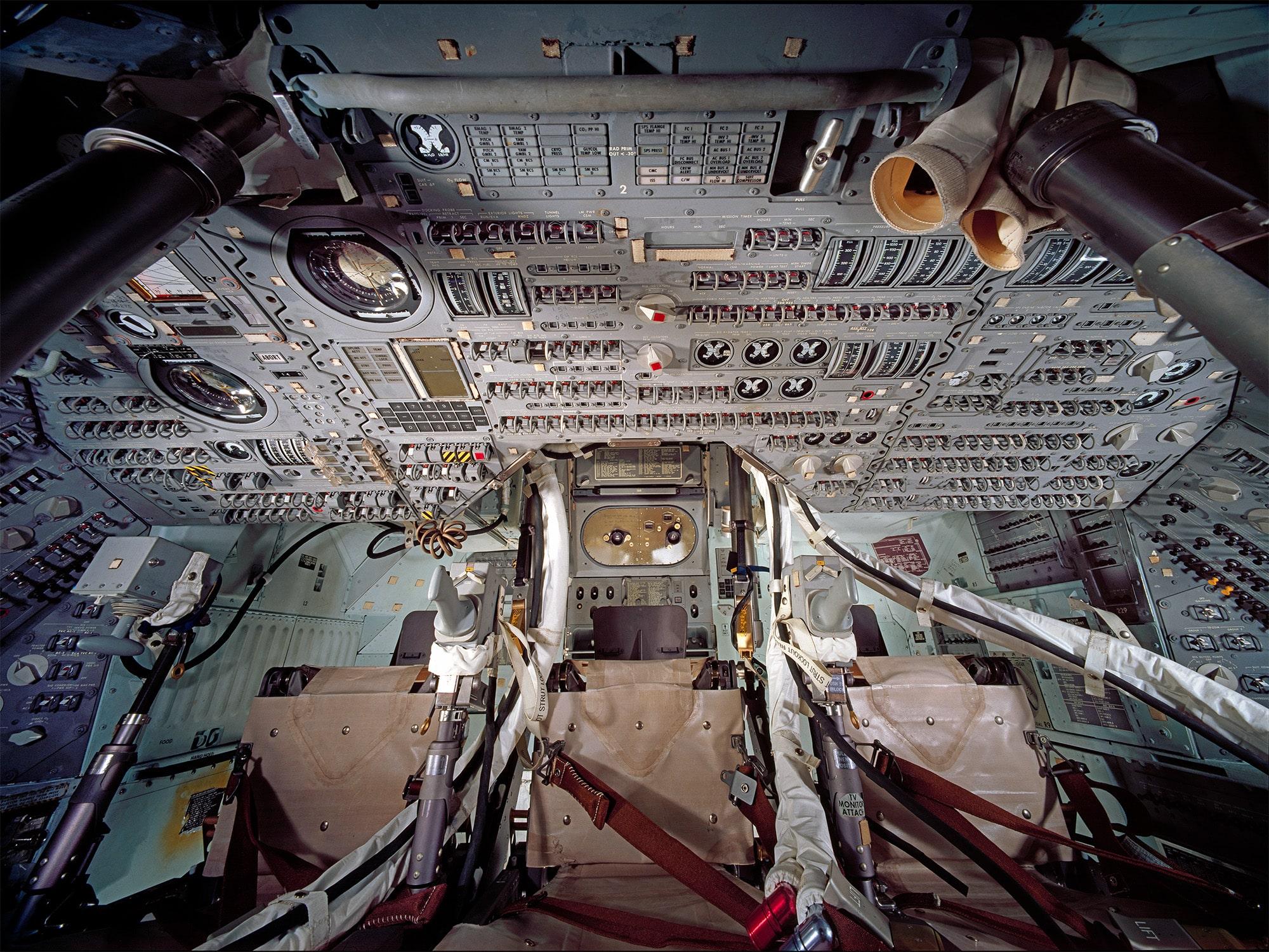 Zapovjedni modul broda Apollo (Credit: NASA)