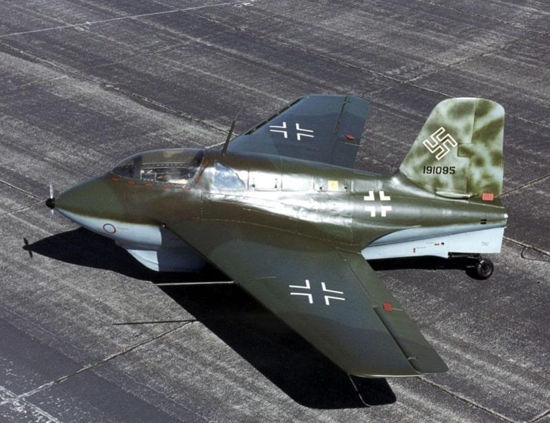 Najnapredniji zrakoplov 2. svjetskog rata pokazao se neprikladnim za zračne borbe (Credit: Wikipedia)