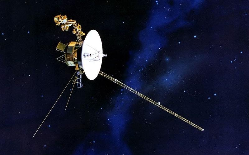 Voyager 1, lansiran 1977. godine, još nije napustio Sunčev sustav. Ljudi ne mogu podnijeti tako dugotrajna putovanja (Credit: Wikipedia)