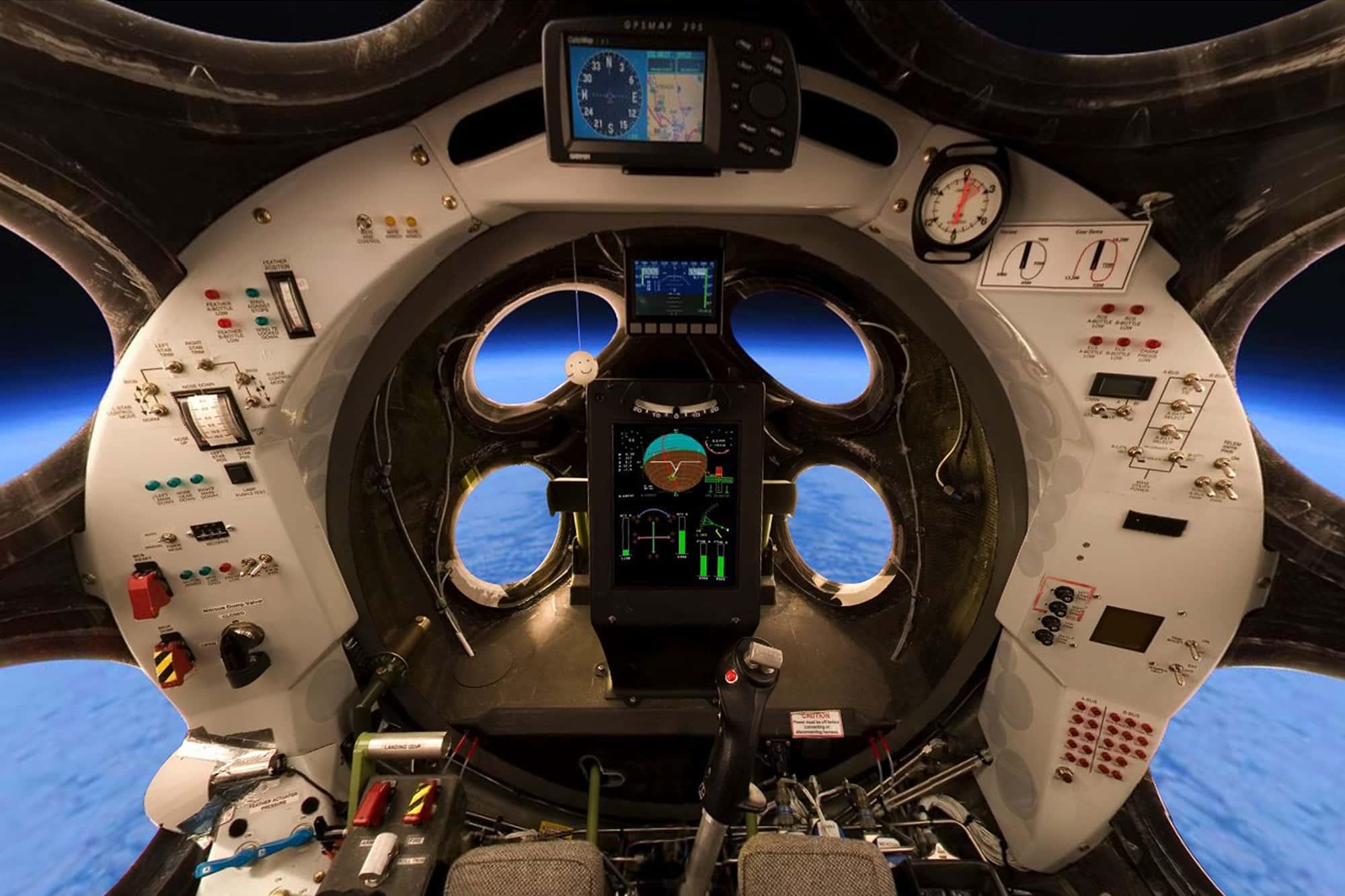 SpaceShipOne bio je eksperimentalni stroj kompanije Virgin Galactic (Credit: Light Media)