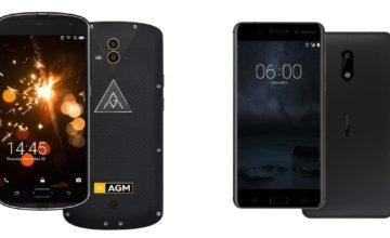 Usporedba: Nokia 6 vs. AGM X1