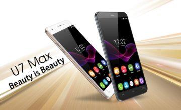 Oukitel najavio novi mobitel, U7 Max