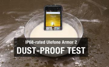 Test otpornosti: Armor 2 ima otporno kućište koje štiti moćan Helio P25 procesor