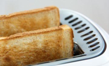 Kruh treba tostirati samo do zlatne boje