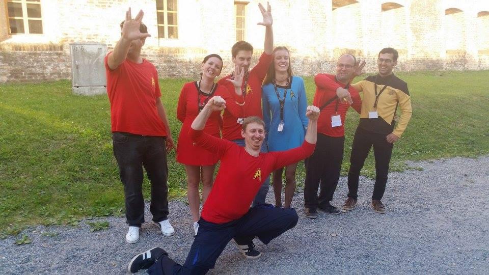 Ekipa koja je vukla konce konvencije (Foto: Marsonikon)