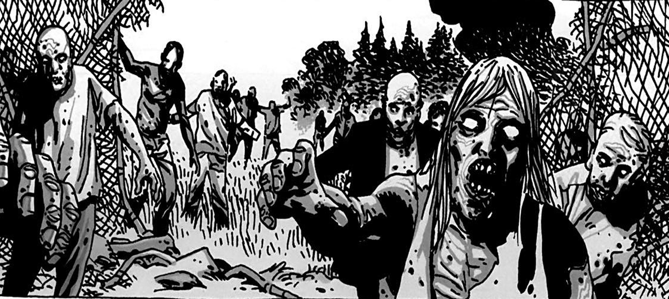 The Walking Dead - Strip ilustracija