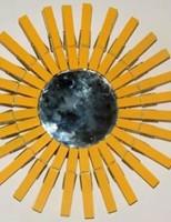 Kako napraviti ogledalo u obliku sunca?