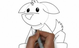 Kako nacrtati psa?