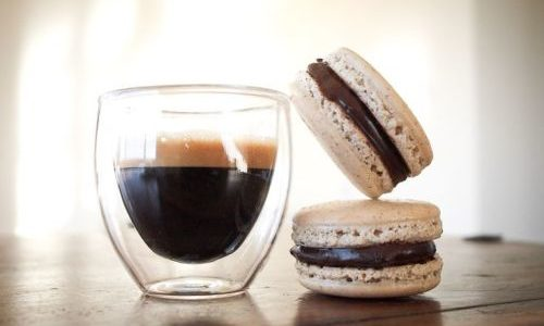 Kako napraviti macaronse od kave ?