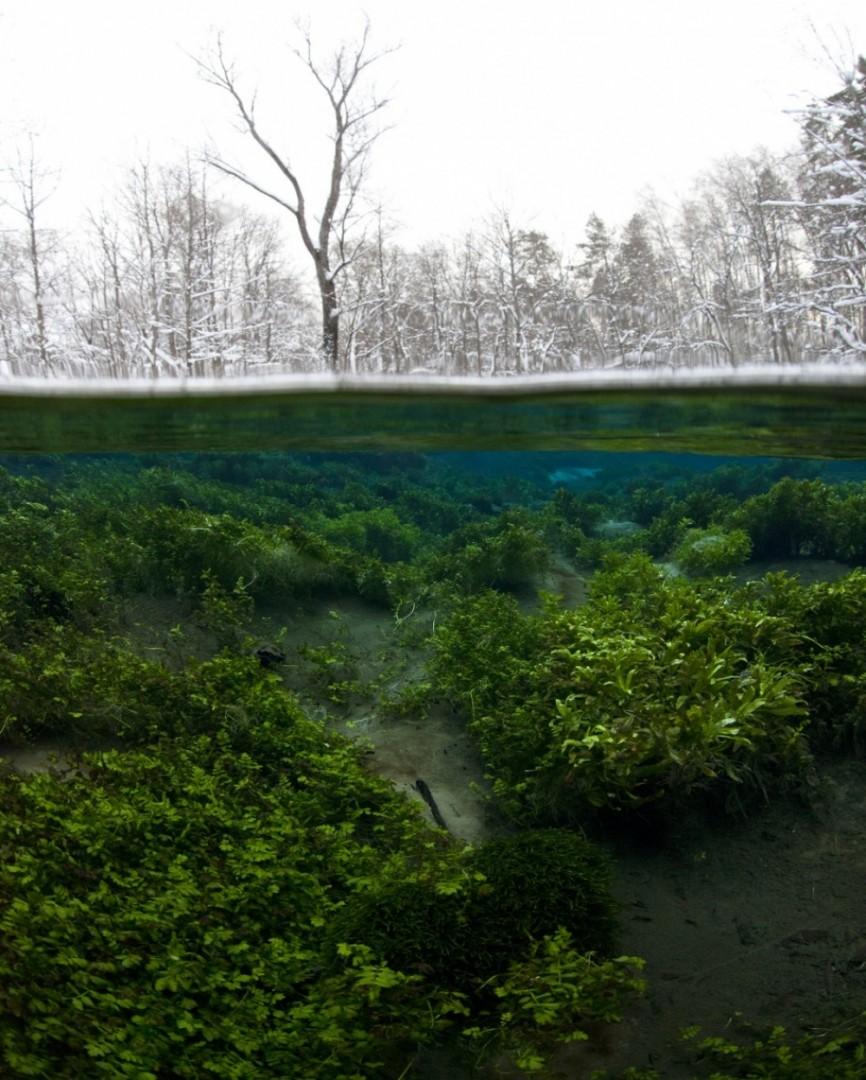 Jezero se priprema za zimu