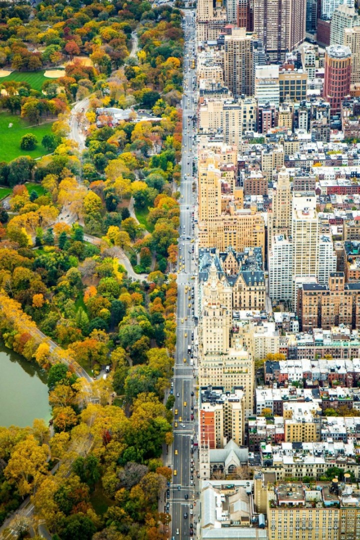 Urbani New York i Central Park