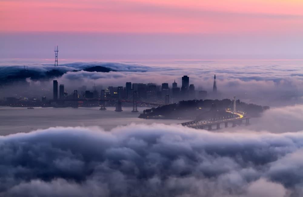 San Francisco u zoru