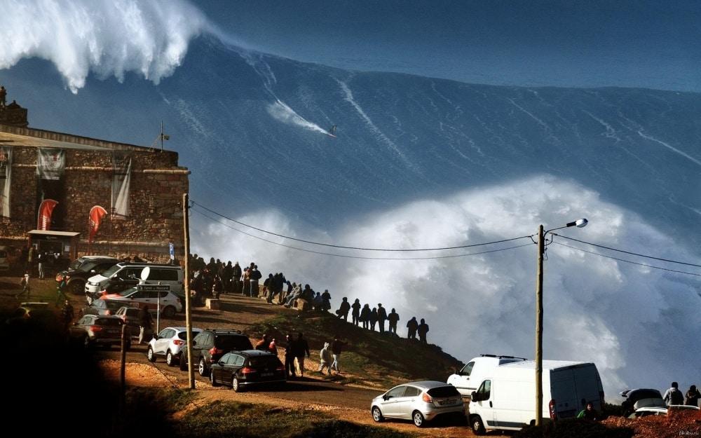 Surfanje na visokim valovima