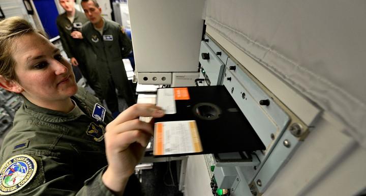 nuklearno oruzje sad diskete