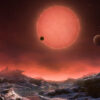 Artist's impression of the ultracool dwarf star TRAPPIST-1 fro