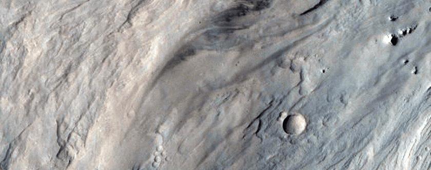 Naplavine koje je uzrokovala voda, a što svjedoči kako je Mars u davnoj prošlosti bio bogat navedenom (FOTO: NASA/JPL/University of Arizona)