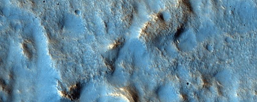 Fotografija Utopia Planitie, još jedne velike marsovske ravnice
