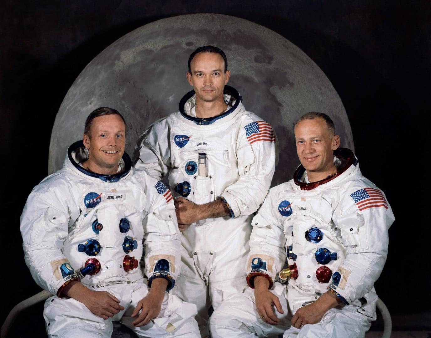 Posada misije Apollo 11: Armstrong, Collins, Aldrin