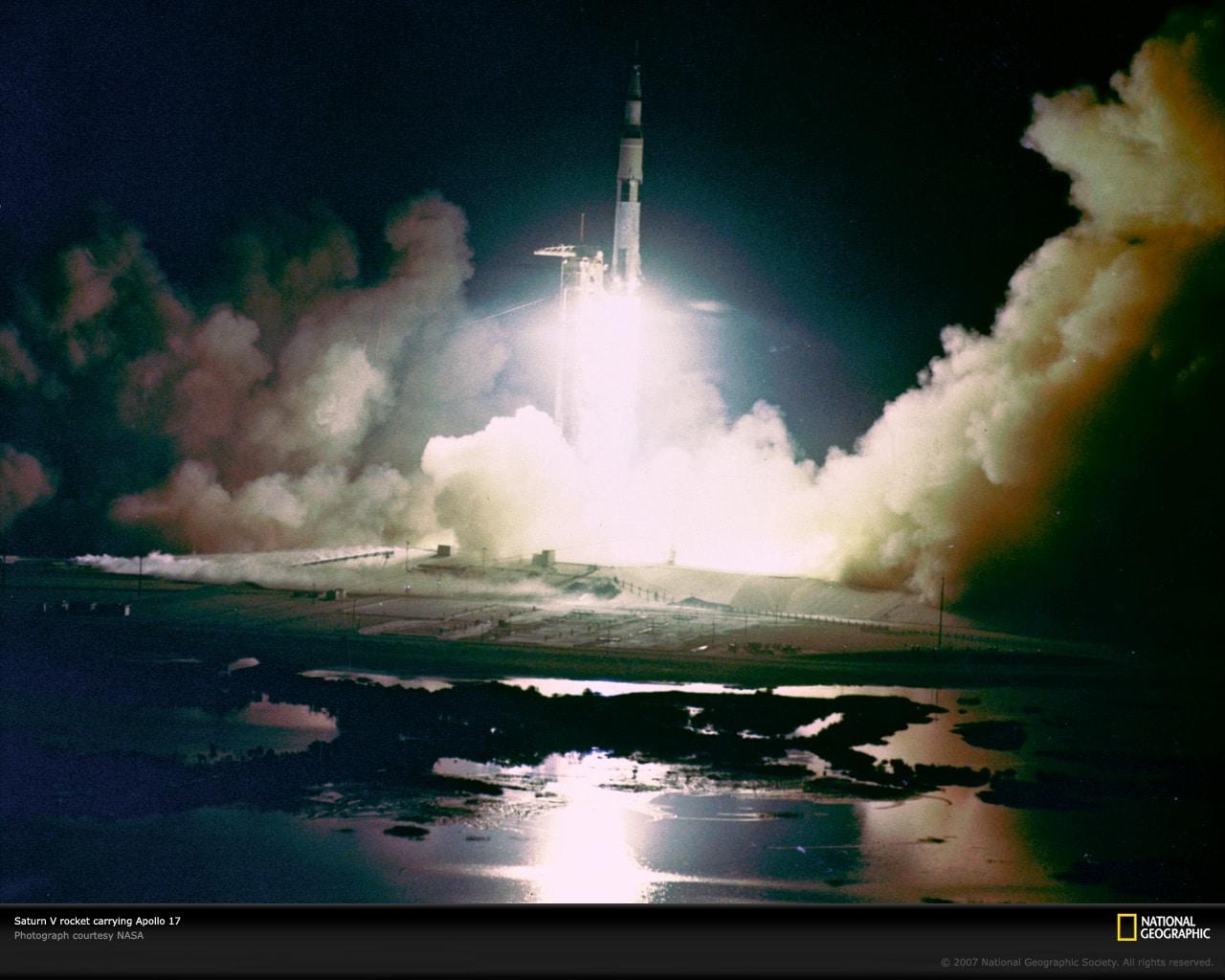Saturn V najmoćnija je i najveća raketa ikad lansirana (Foto: National Geographic)