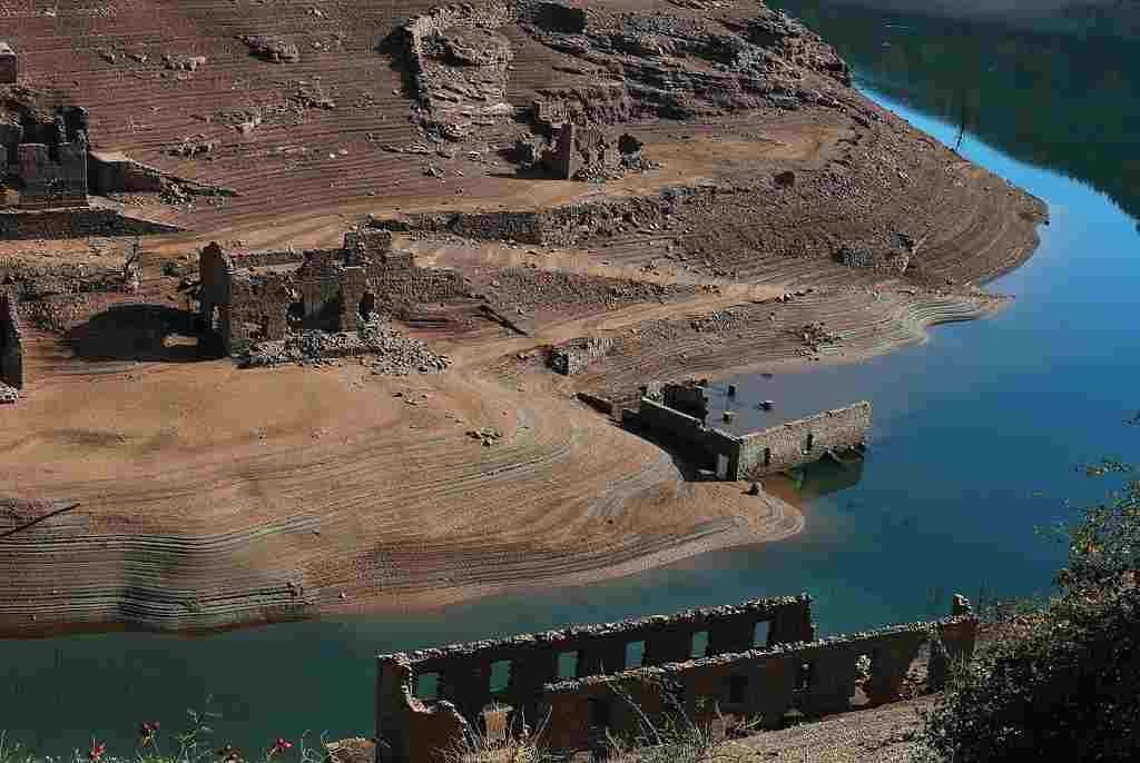 iz dubina se pojavio davno potopljeni spanjolski grad