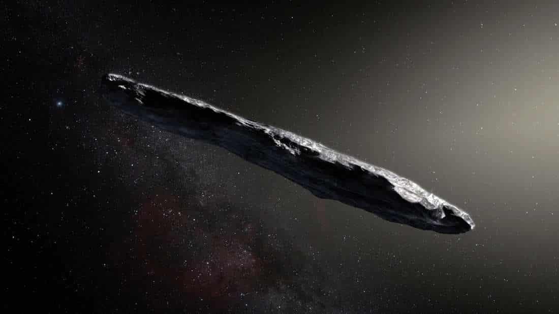 znanstvenici su potvrdili da smo prosli mjesec ugostili prvog meduzvjezdanog putnika